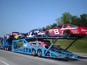 NASCAR Race Against Traffic