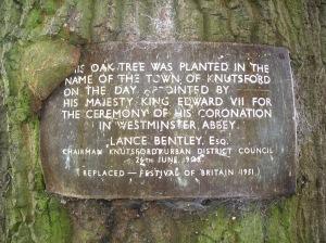 Oak Tree Dedication