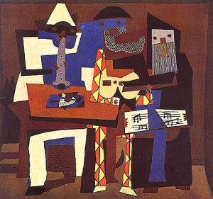 Three Musicians - One of My Favorite Picasso Pieces