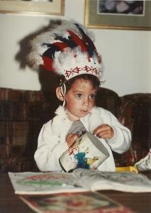 Ross as an indian