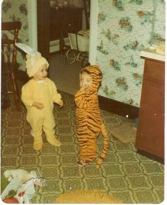 Ross as a Halloween Tiger (1980)