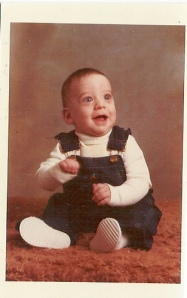 Ross as a baby