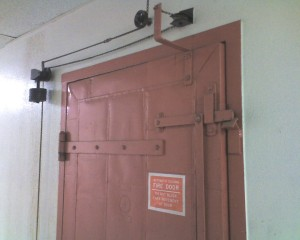 Automatic Closing Fire Door