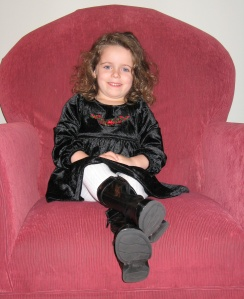 Violet in the hot-seat