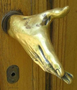 "Gives new meaning to ""jiggle the doorknob"", right?"